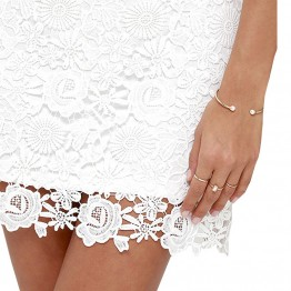 Beautiful Elegant Sexy Lace Night Club Halter Bodycon Dress
