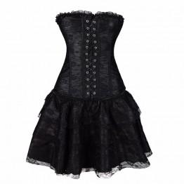Corset  steampunk waist trainer corset steampunk gothic waist trainer sexy corselet Bustier modeling strap Body Belt Burlesque