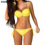 Sexy New Lined Bra Bikini Set